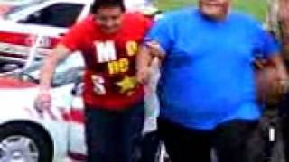 coacoatzintla-Los taxistas Coacoatzintla liberando a Wili
