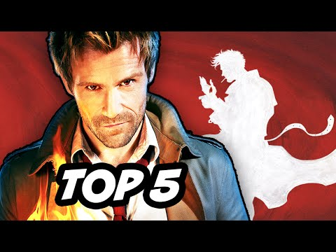 Constantine Episode 1 - TOP 5 Hellblazer...