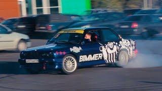 BMW E30 30-летняя Пушка на V8 / Тест-Драйв Корча