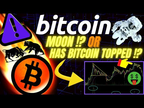 BITCOIN TO THE MOON OR TOPPED OUT !? Crypto BTC TA Price Prediction, Analysis, News, Trading Charts