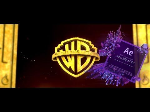 3D Element Movie intro (Warner Bros FX) in After Effect Tutorial