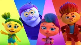 Монсики - все серии сразу - сборник - серии 1-3– мультфильм для детей – чувства и эмоции