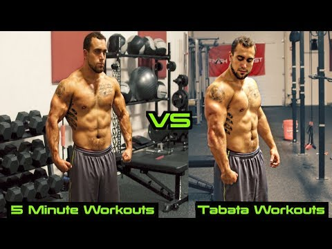5 Minute Workouts vs Tabata Workouts | Muscle Benefits Explained!