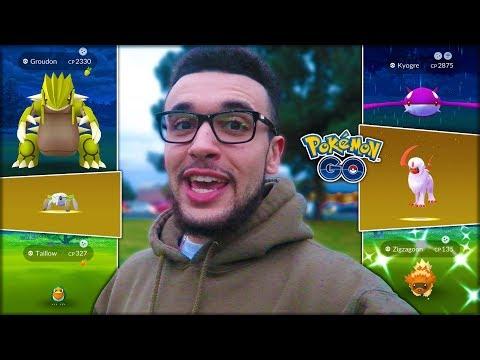 SHINY GROUDON, RARE HATCHES, & NEW RAIDS! (Pokémon GO)