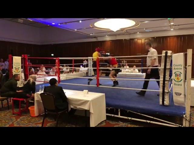 2018 County Antrim Belfast Boxing Classic - Fight 10