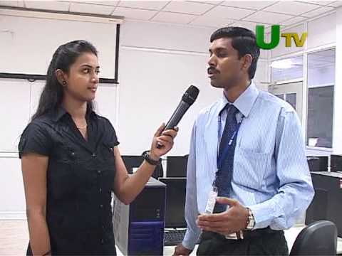 IMS Global Academy @ KGISL - A revolution in RIMS industry - U Tv shoot 1/2