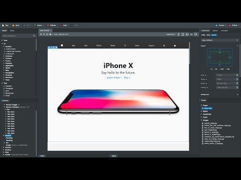 Creating Apple's Website In Bootstrap Studio 4 (Tutorial)