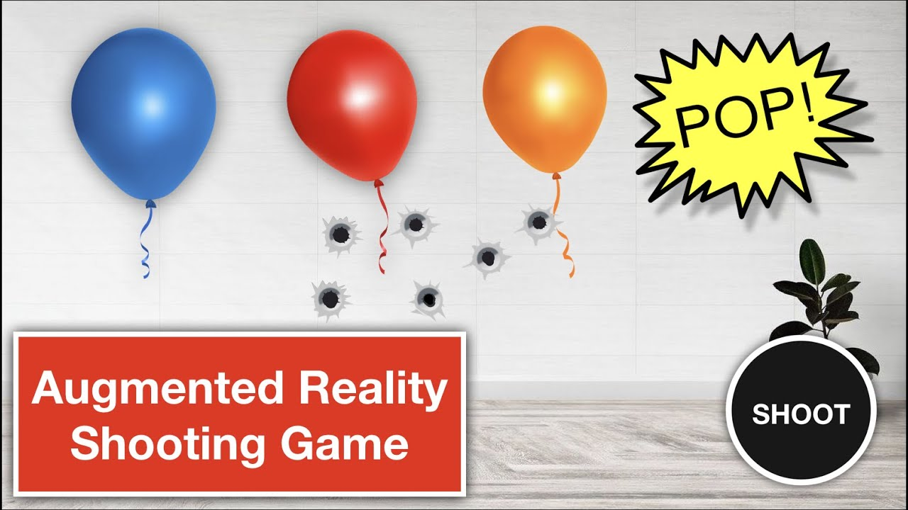 Augmented Reality (ARFoundation & Unity) Tutorial - Create A Shooting Game in AR (Part - 1)