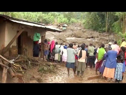 Deslizamento de terras no Uganda faz dezenas de mortos