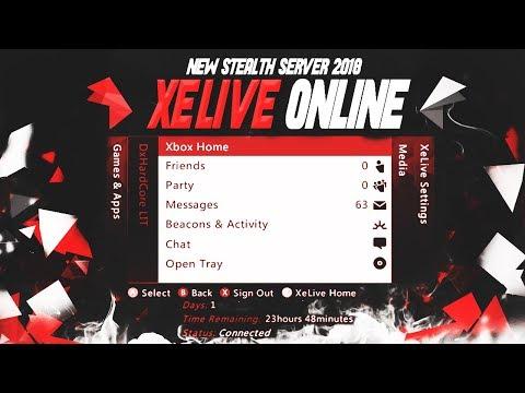 NEW!!! XeLIVE ONLINE STEALTH SERVER 17511 | ALL COD OFFHOSTS + IMPROVED KV LIFE!!! | (JTAG/RGH ONLY)