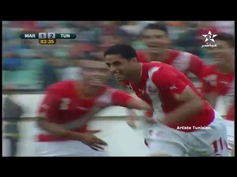 CHAN 2011 Maroc vs Tunisie (2-2) - Les Buts 05-06-2010