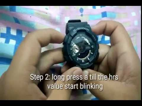 casio g shock protection manual 5146