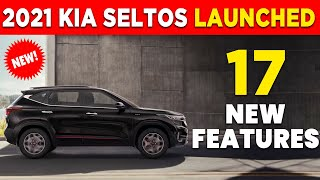 2021 Kia Seltos  launched india - 17 New Features \u0026 2 new variants