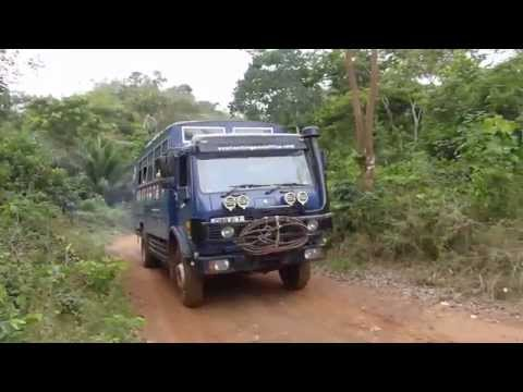 Driving In The Ivory Coast Jungle: Overlanding West Africa