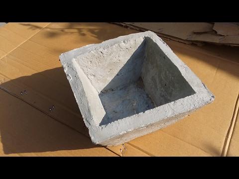 Cement  pots mold || घर पर गमला बनाने के लिये