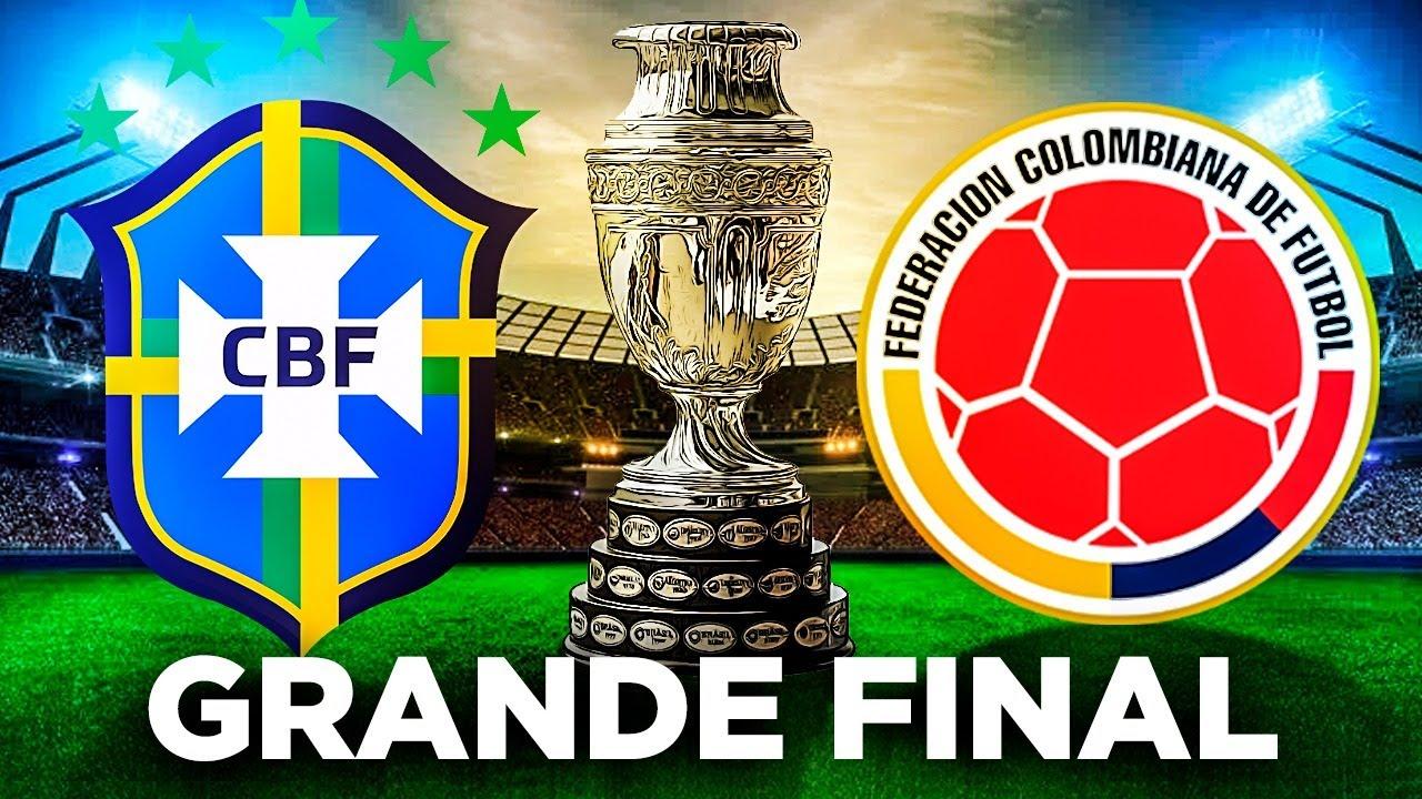 A GRANDE FINAL DA COPA AMERICA !!! - FIFA 21 Modo Carreira Brasileirão - Parte 83