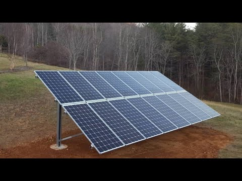 HOW TO CUT YOUR ELECTRICITY BILLS IN HALF - Using Solar Panels To Charge Your Battery Bank (S1 - E1)