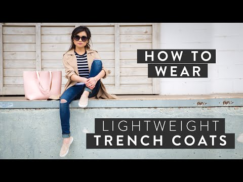 How to Wear Lightweight Trench Coats | Spring 2015 Fashion Trends | Miss Louie