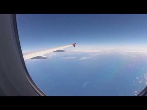 Air Mauritius Durban King Shaka DUR to Mauritius MRU airbus a319-100 economy class