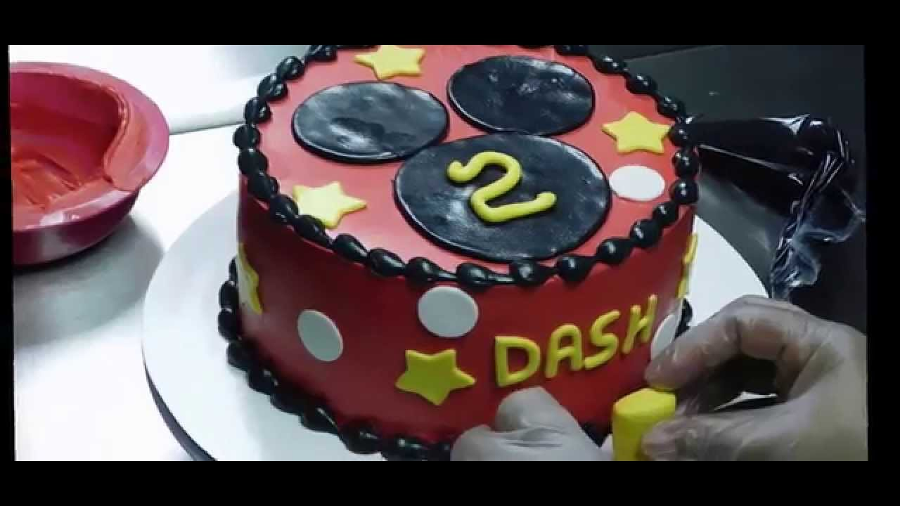 Mickey Mouse Cake New Orleans Style 2015 Youtube