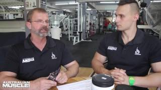 Australian Muscle AMP-V Fat Loss Supplement Review!