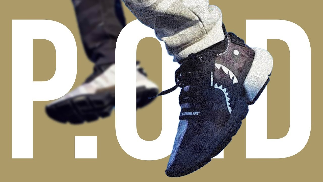pronto portón digerir  BAPE x NEIGHBORHOOD ADIDAS POD 3.1 REVIEW + ON FOOT - YouTube