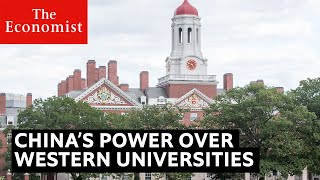 China v America: why universities are on the front line | The Economist