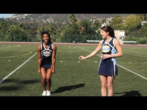 How To Do A Toe Touch | Cheerleading