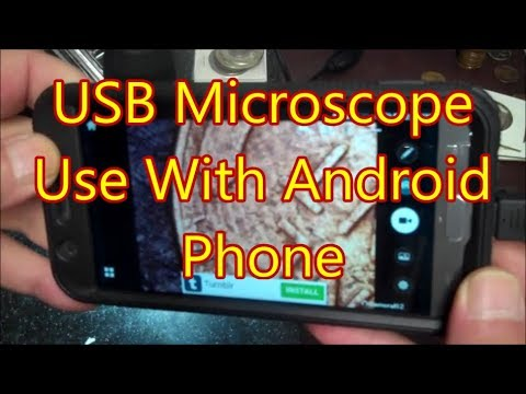 Use Your USB Microscope With Your Android Phone