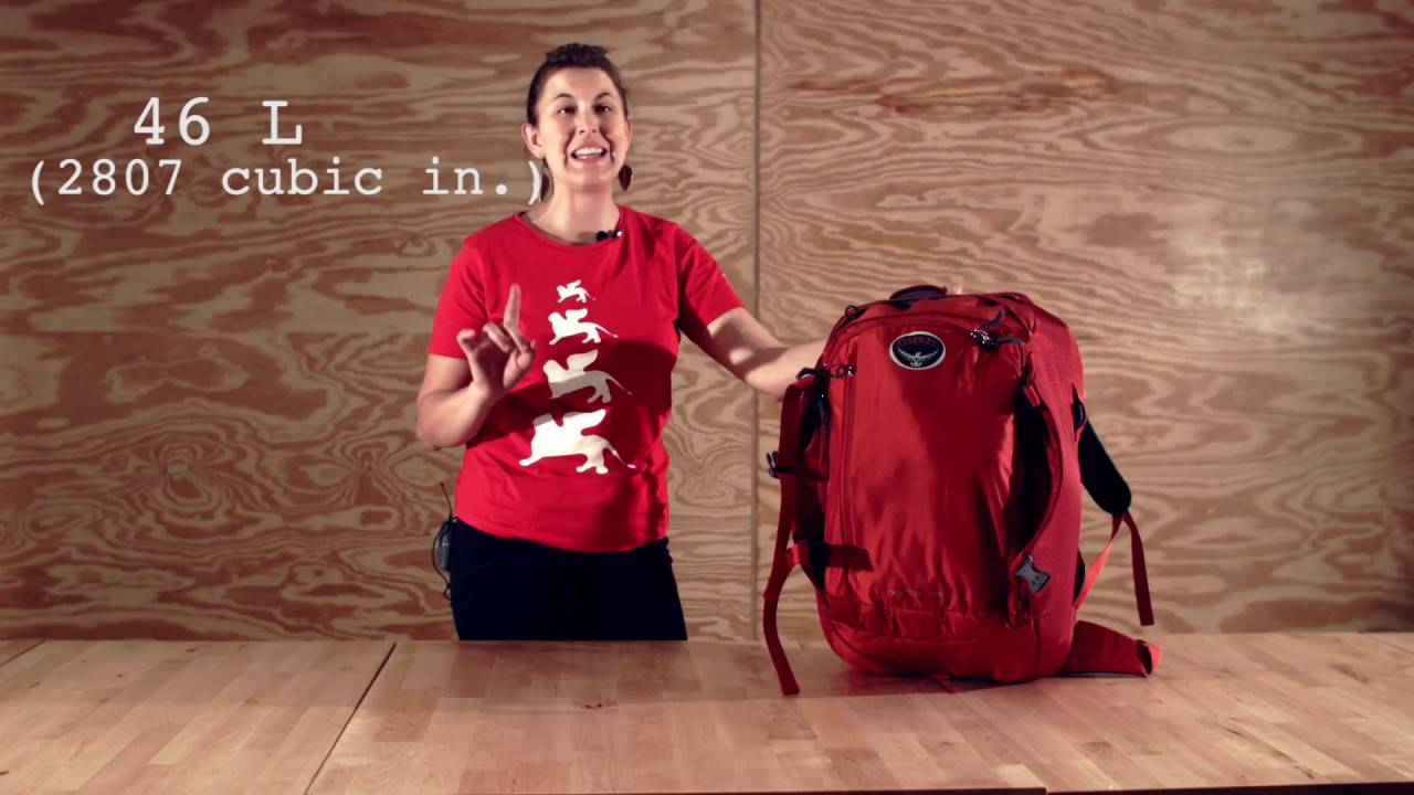 Which Size Backpack Should I Get  - YouTube aaa4255c27cbb