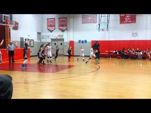 St Teresa vs Holy Child 6th grade girls basketball