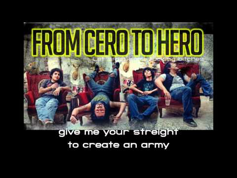 From Cero To Hero - Holy Sinner (lyrics)