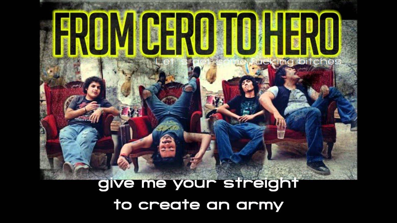 Download From Cero To Hero - Holy Sinner (lyrics)