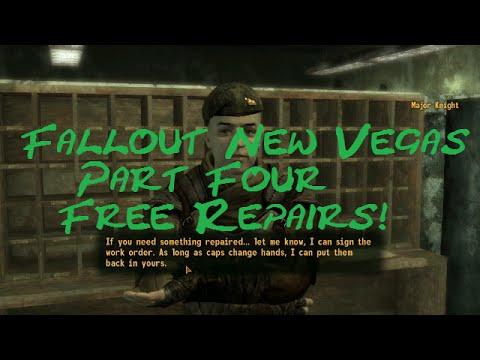 Fallout New Vegas Pt.4 Free Repairs!