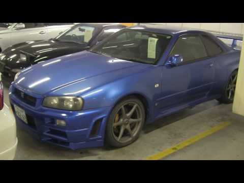 [Smile JV] Japan Car Auction Agent Inspection of a Nissan Skyline GTR