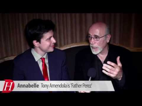 Tony Amendola talks 'Annabelle'