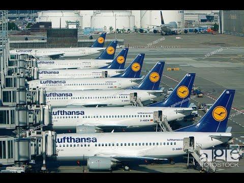 Inside Frankfurt International Airport