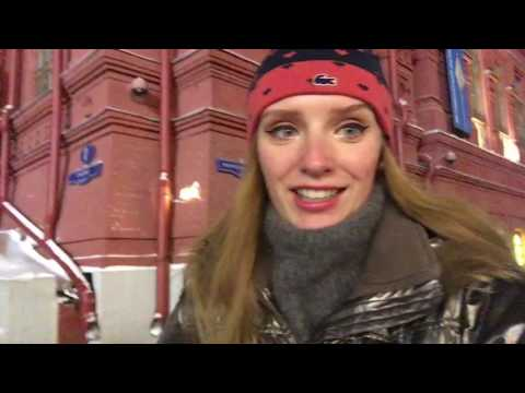 VLOG 19: Woooow! Visiting Christmas market in Moscow!! ✨👏 09.12.16