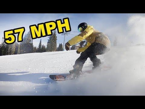 Beaver Creek Speed Snowboarding! - (Season 4, Day 54)
