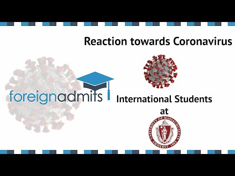How Coronavirus Will Impact on International Students? Ep16 (University of Massachusetts)