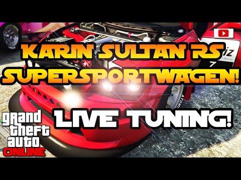 Grand Theft Auto 5 Online - Karin Sultan RS Supersportwagen Live Tuning Mit Enrico Italia! [Deutsch]