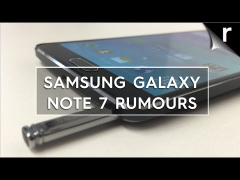 Samsung Galaxy Note 7 Rumors and Leaks: What to expect ...