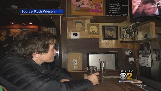 Actor Michael Shannon Watches Oscars From Chicago Dive Bar