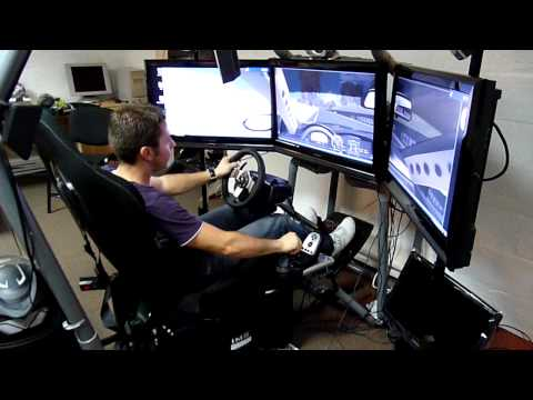 playseat diy si ge dynamique simulateur de voiture de c doovi. Black Bedroom Furniture Sets. Home Design Ideas