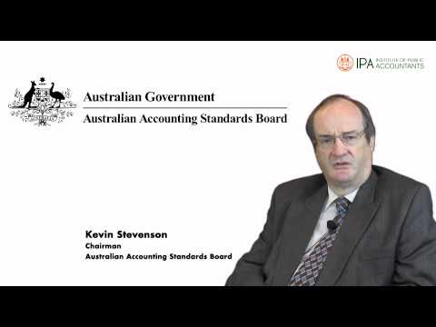 The AASB -- It's Function In Our Regulatory Environment - Kevin Stevenson
