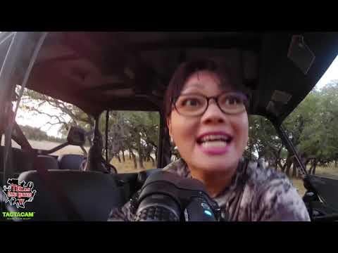 Huntress Gives A Texas Gold Medal Sika Buck A Dirt Nap!