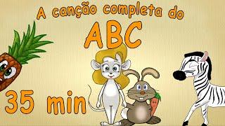 Alfabeto para crianças - 35 minutos - A canção completa do ABC