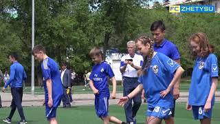 «Урок футбола» в средней школе №12
