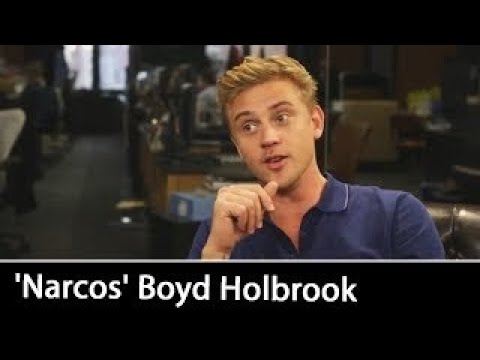 NARCOS (Netflix Original Series Season 2) Interview w/ Boyd Holbrook | September 2016