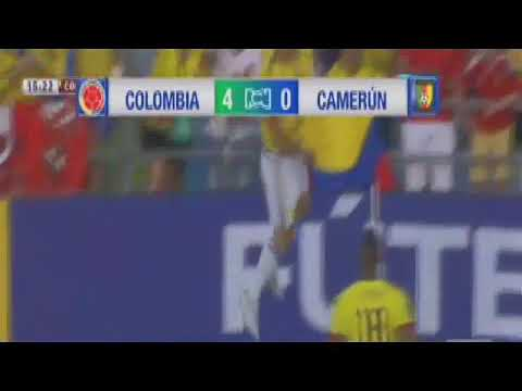 Colombia vs cameroon 4-0
